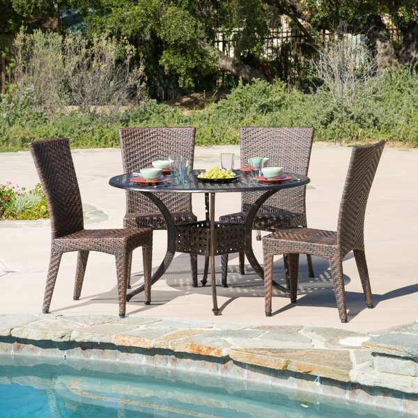 Hailey 5 Piece Dining Set by Home Loft Concepts