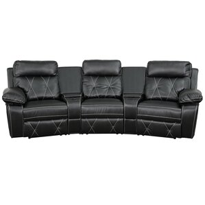 Leather Home Theater Recliner  sc 1 st  Wayfair & Theater Seating Youu0027ll Love | Wayfair islam-shia.org