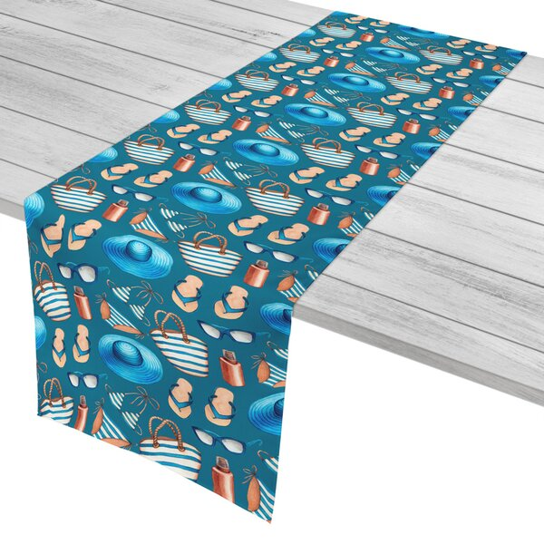 Coastal Summer Holiday Table Runner by Island Girl Home