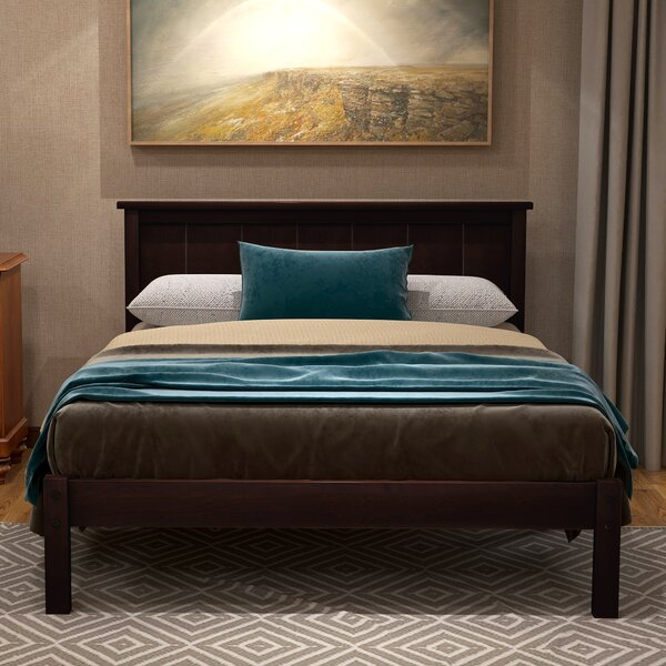 Mowery Wood Upholstered Standard Bed by Canora Grey