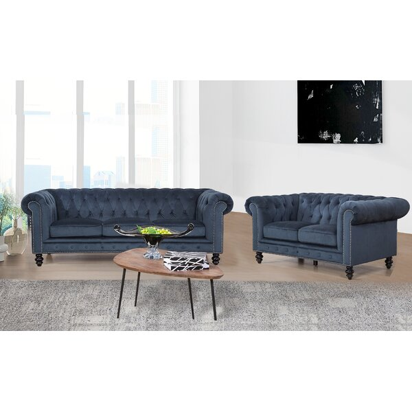 Jovani 2 Piece Living Room Set by Rosdorf Park