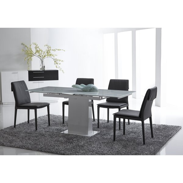 Bonn Extendable Dining Table by Bellini Modern Living Bellini Modern Living