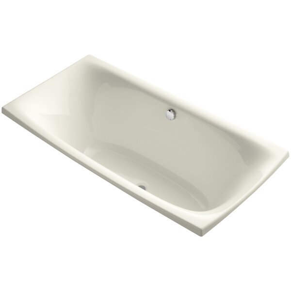 Escale 72 x 36 Drop In Soaking Bathtub by Kohler
