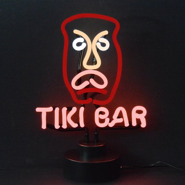 Business Signs Tiki Bar Neon Sculpture by Neonetics
