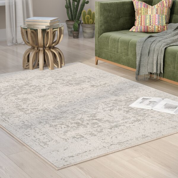 Hillsby Gray/Beige Area Rug by Mistana