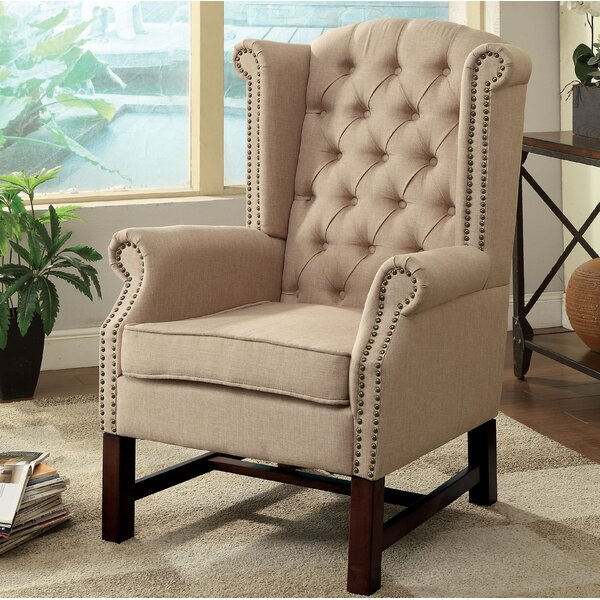 McKew Wingback Chair by Darby Home Co