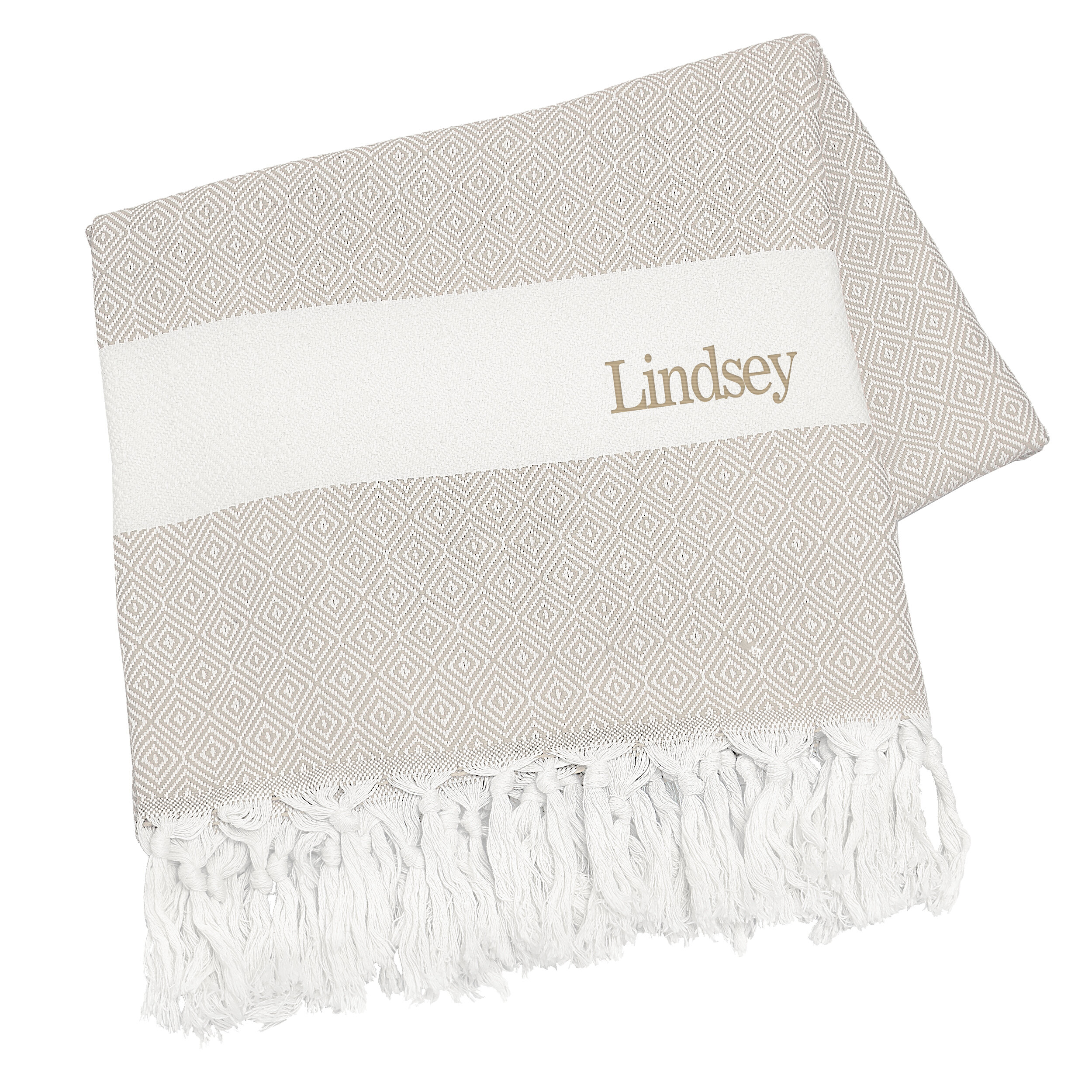 personalized cotton throw blanket reviews joss main
