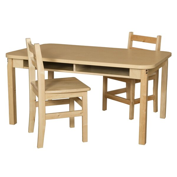 Manufactured Wood 23 Multi-Student Desk by Wood Designs