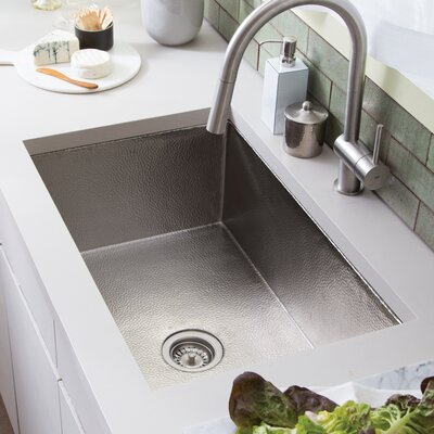 Native Trails Kitchen Sink Undermount Brushed Nickel Kitchen Utility Sinks