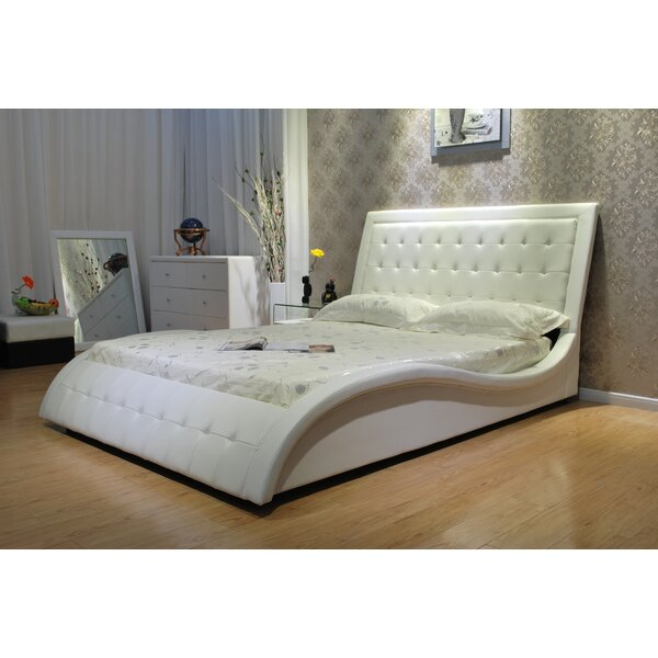 Mangonia Upholstered Platform Bed By Orren Ellis