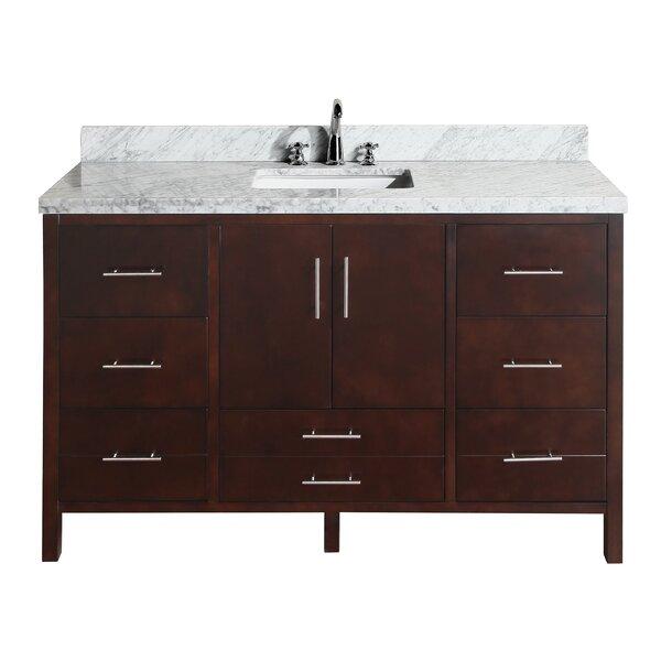 California 60 Single Bathroom Vanity Set by Kitchen Bath Collection