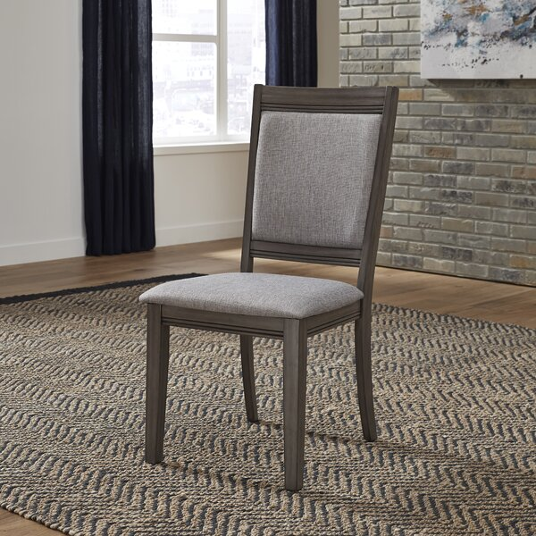 Ladwig Upholstered Dining Chair (Set of 2) by Union Rustic