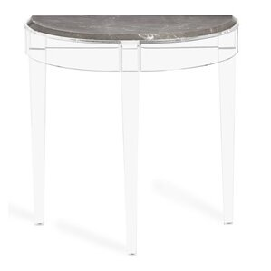 Amal Demilune Console Table by Interlude