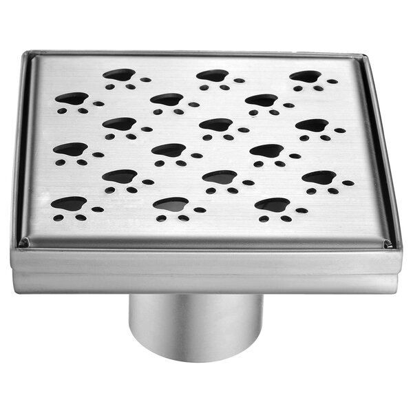 Memuru River 2 Grid Shower Drain by Dawn USA