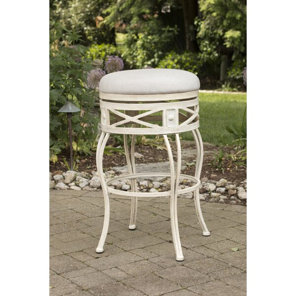 Pharris 30 Swivel Indoor/Outdoor Patio Bar Stool by One Allium Way