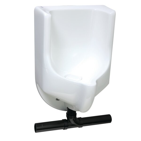 Sonora Bottom Drain Urinal by Waterless