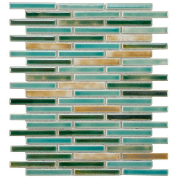 Arcadia 0.5 x 3.5 Porcelain Mosaic Tile by EliteTile
