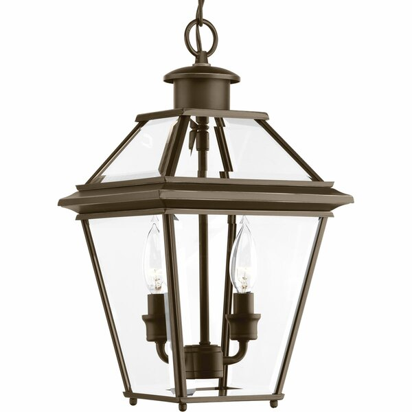 Gunnora 2-Light Outdoor Hanging Lantern by Darby Home Co