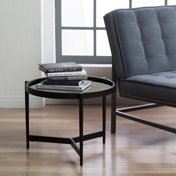 Estrade Modern Round Tray Table by Studio Designs HOME