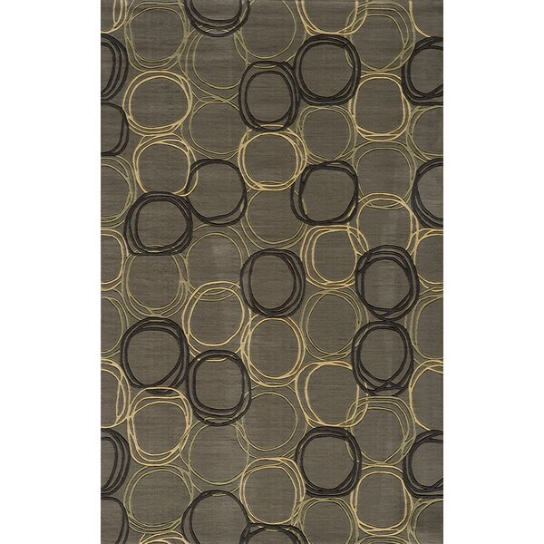 Mable Creek Gray Area Rug by Langley Street