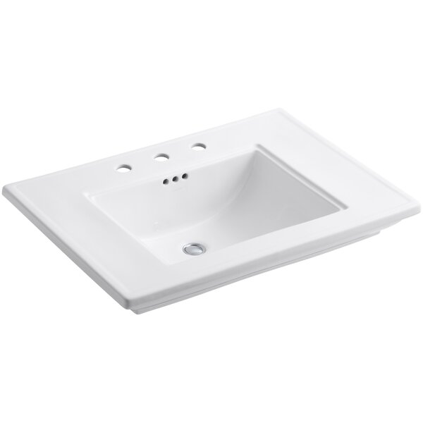 Memoirs® Ceramic 30 Console Bathroom Sink with Overflow by Kohler