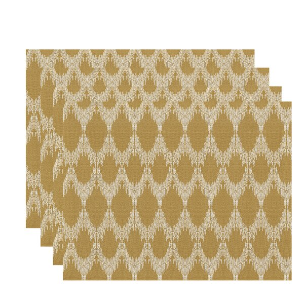 Lassiter Geometric Placemat (Set of 4) by Bungalow Rose