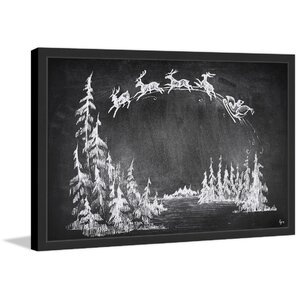 'Over the Moon' Framed Print by The Holiday Aisle