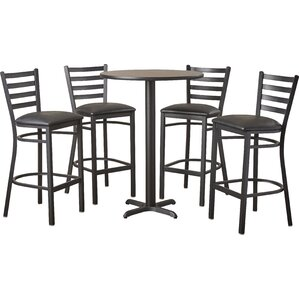 Rylee 5 Piece Pub Table Set by Latitude Run