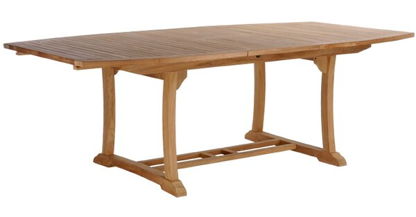 Layne Teak Extendable Dining Table by Darby Home Co