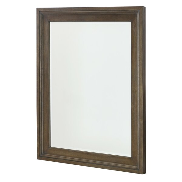 Baford Rectangle Wood Framed Wall Mirror by Gracie Oaks