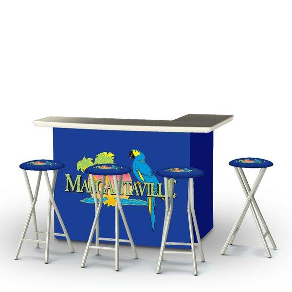 Wallace 5-Piece Bar Set by Bayou Breeze