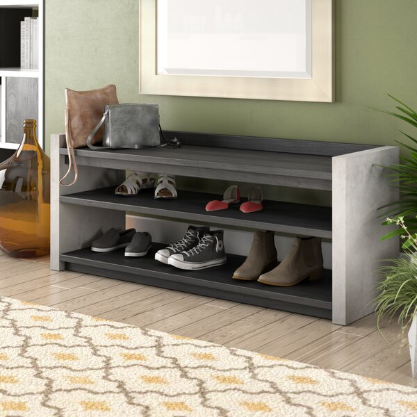 Transitional Shoe Rack by Langley Street