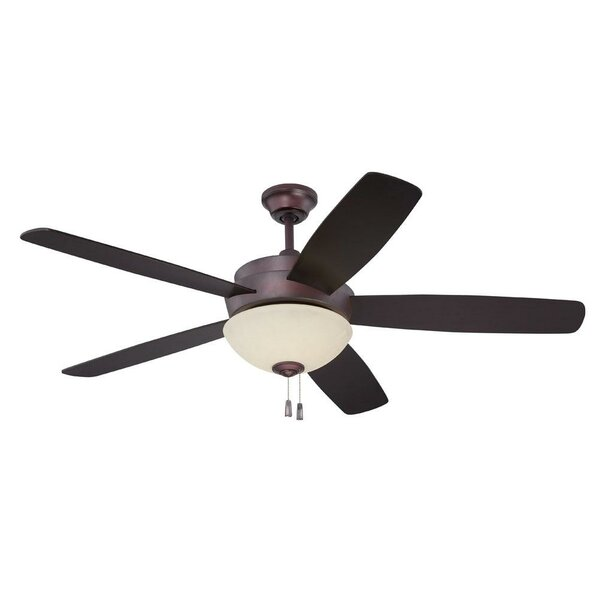 52 Bree 5 Blade Reversible LED Ceiling Fan by Latitude Run