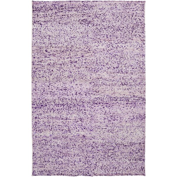Cadwell Violet Area Rug by Bungalow Rose