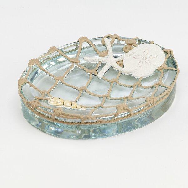 Seaglass Soap Dish by Avanti Linens