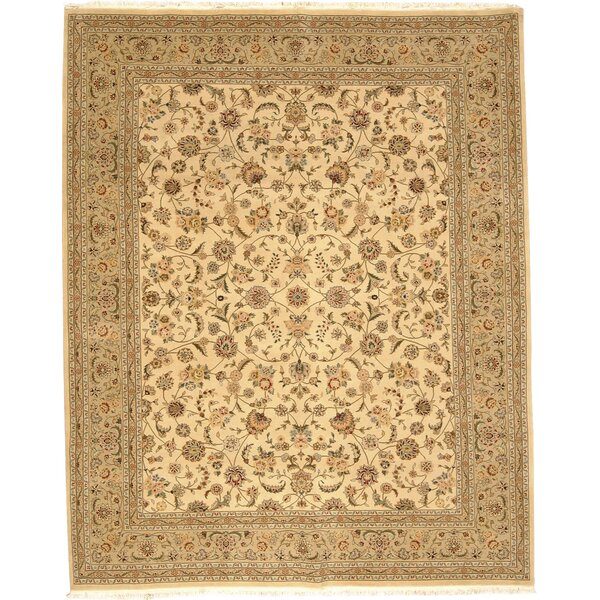 Franciscan Handmade Beige Area Rug by Darby Home Co