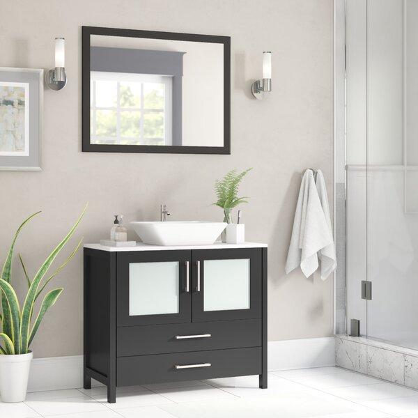Karson 36 Single Bathroom Vanity by Wade Logan