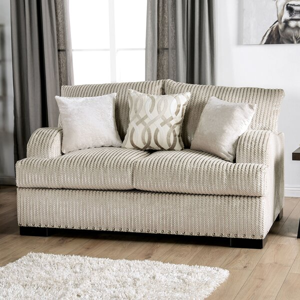 Chic Rosemount T-Cushion Loveseat by Canora Grey by Canora Grey