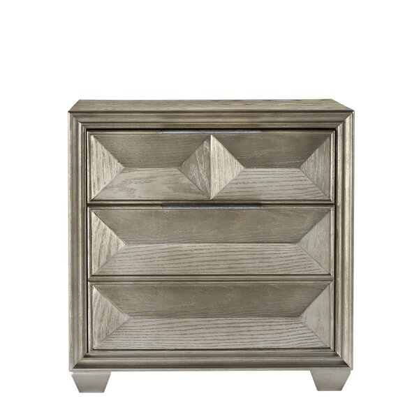 Daley 2 Drawer Nightstand by Mercer41