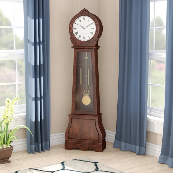 Swensen 71.75 Grandfather Clock by Winston Porter