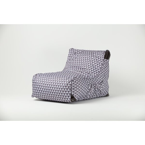 Paola Triangle Bean Bag Lounger by Ove Decors