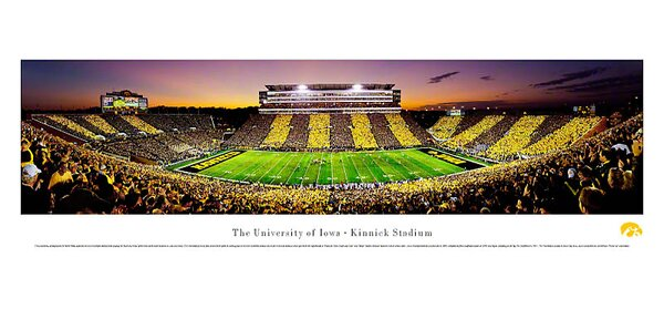 NCAA The University of Iowa - Spirit Week Photographic Print by Blakeway Worldwide Panoramas, Inc