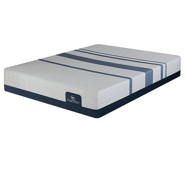 iComfort 500 11 Plush Gel Memory Foam Mattress and Box Spring by Serta
