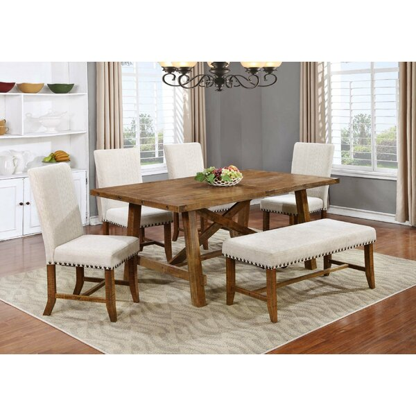 Corson Solid Wood Dining Table by Gracie Oaks Gracie Oaks