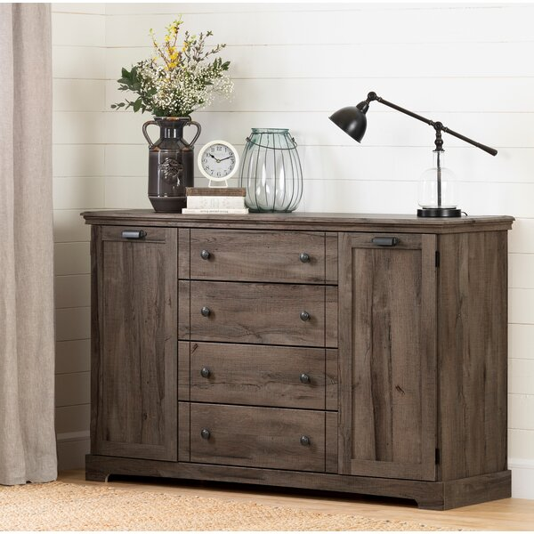 Avilla 4 Combo Dresser by South Shore