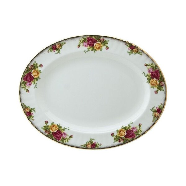 Old Country Roses Oval Platter by Royal Albert