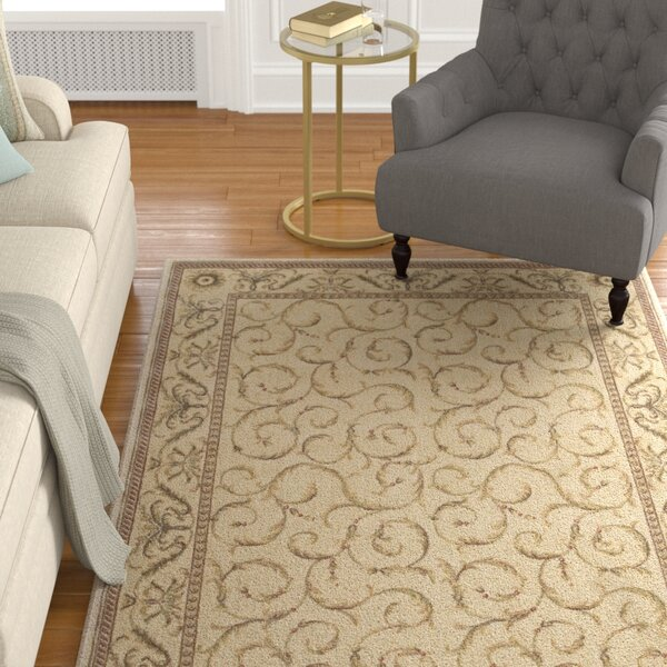 Merton Ivory Area Rug by Charlton Home