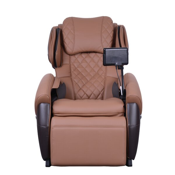 3D Right-Size Reclining Full Body Zero Gravity Heated Massage Chair by Latitude Run