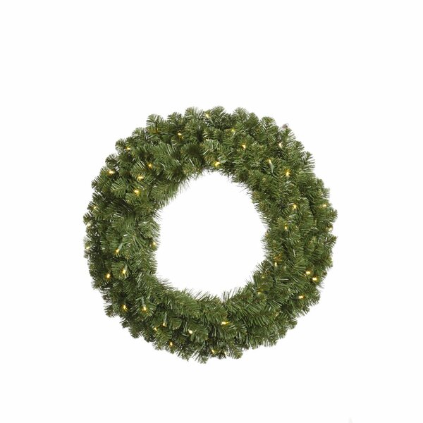 Grand Teton Lighted Wreath by The Holiday Aisle