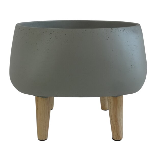 Gia Cement Urn Planter by George Oliver